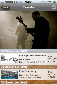 Live Pipa – the Events page